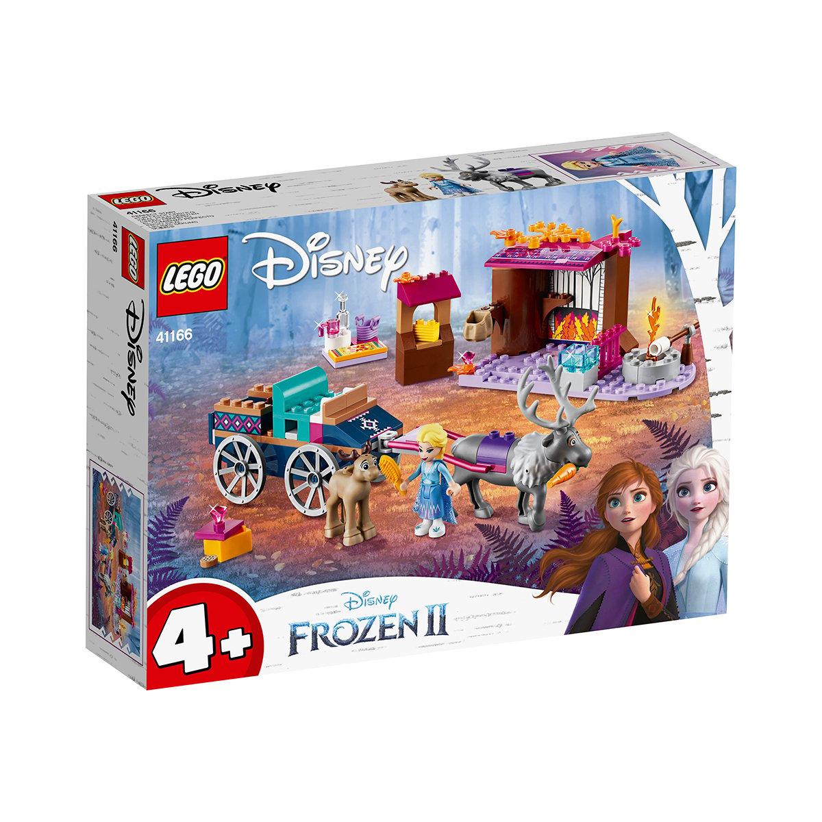 LEGO® Disney Frozen 2 - Aventura Elsei cu trasura (41166)