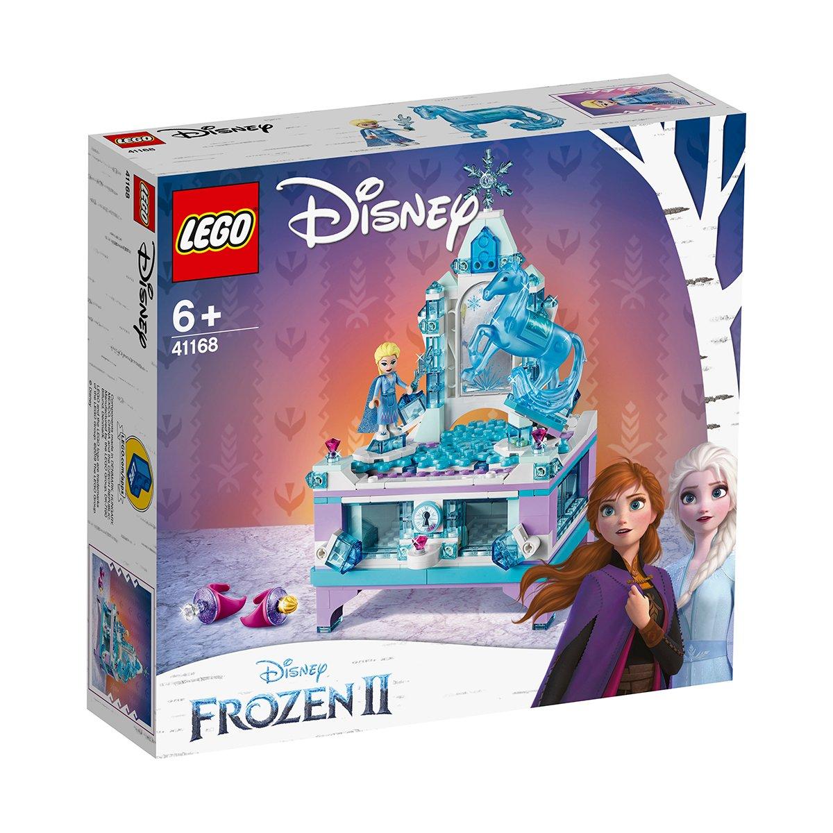 LEGO® Disney Frozen 2 - Cutia de bijuterii a Elsei (41168)