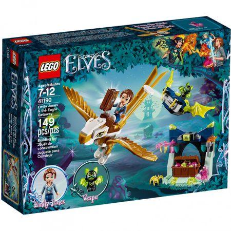 lego® elves - emily jones si evadarea vulturului (41190)