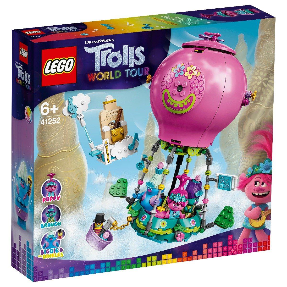 LEGO® Trolls™ - Aventura lui Poppy cu balonul cu aer cald (41252)