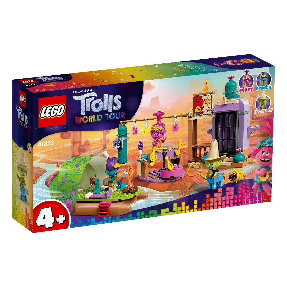 LEGO® Trolls™ - Aventura cu pluta lui Lonesome Flats (41253)