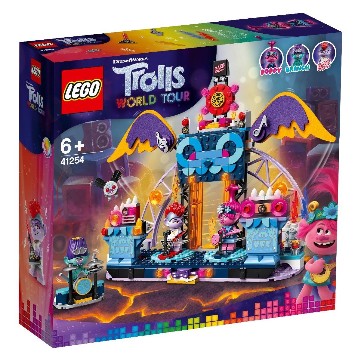 LEGO® Trolls™ - Concertul din orasul Vulcano Rock (41254)