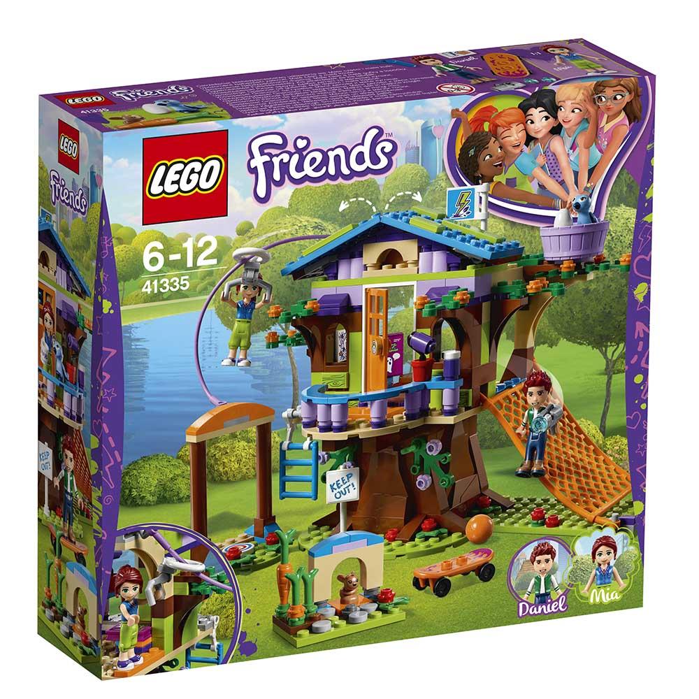 LEGO® Friends - Casuta din copac a Miei (41335)