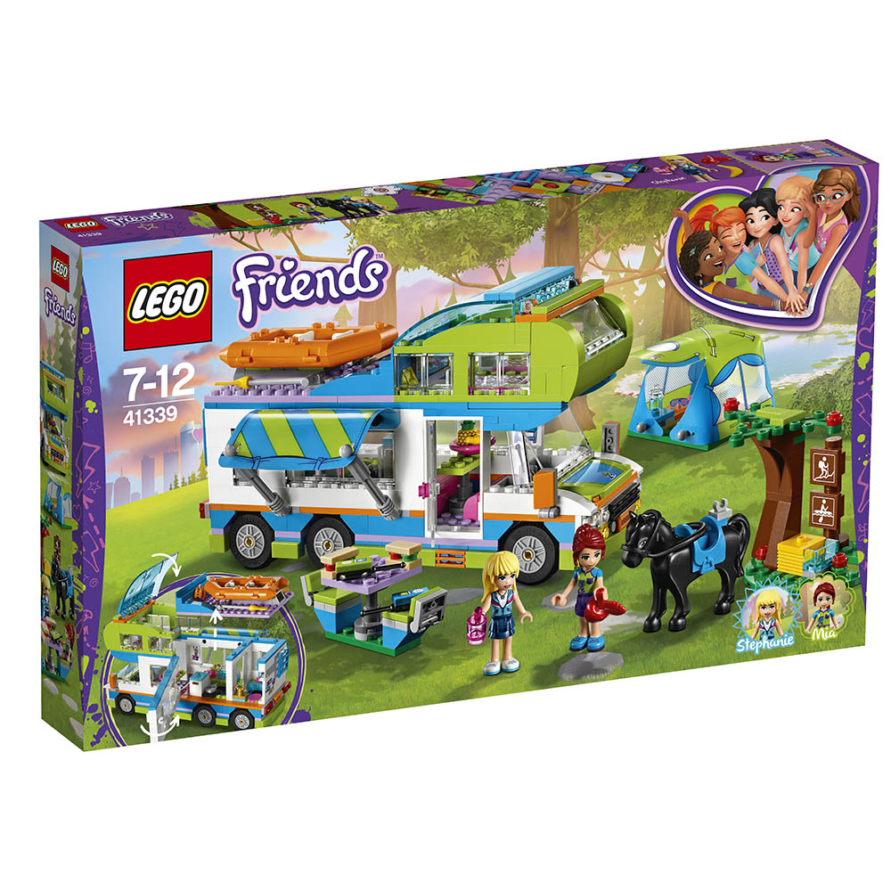 lego® friends - furgoneta miei (41339)