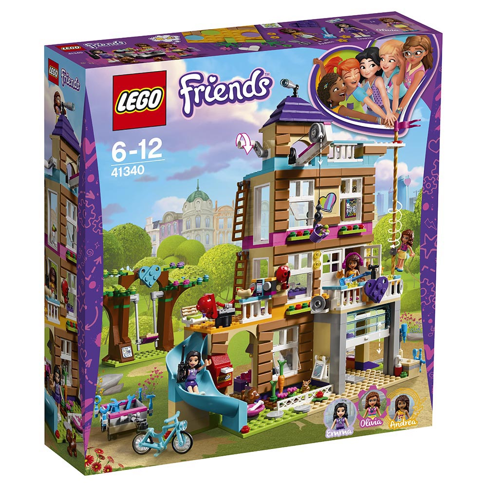 lego® friends - casa prieteniei (41340)