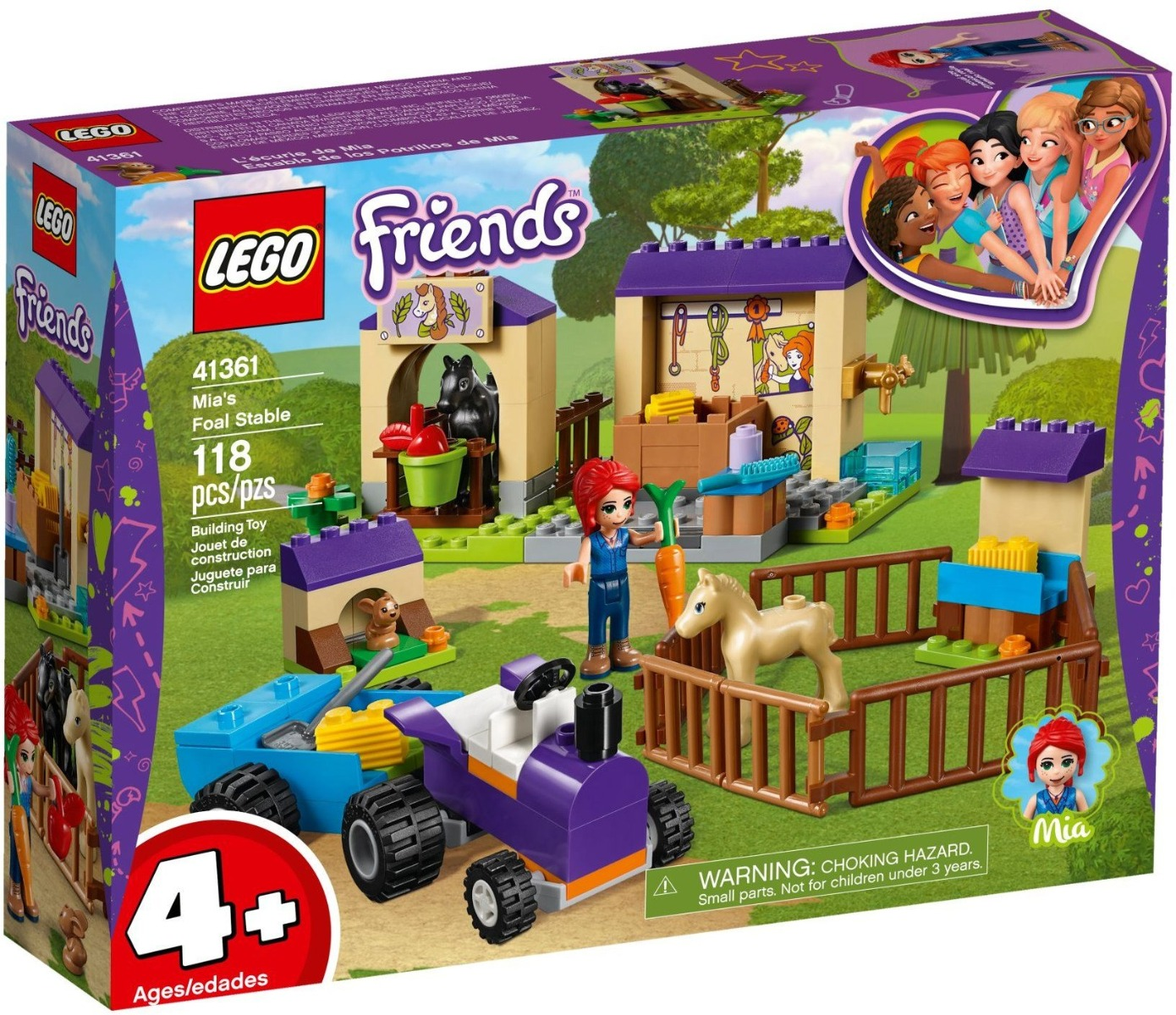 LEGO® Friends - Grajdul Miei (41361)