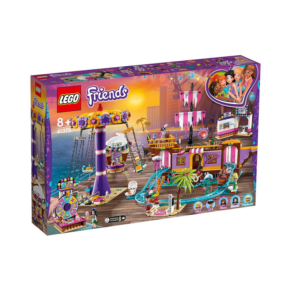 LEGO® Friends - Debarcaderul cu distractii din Heartlake City (41375)