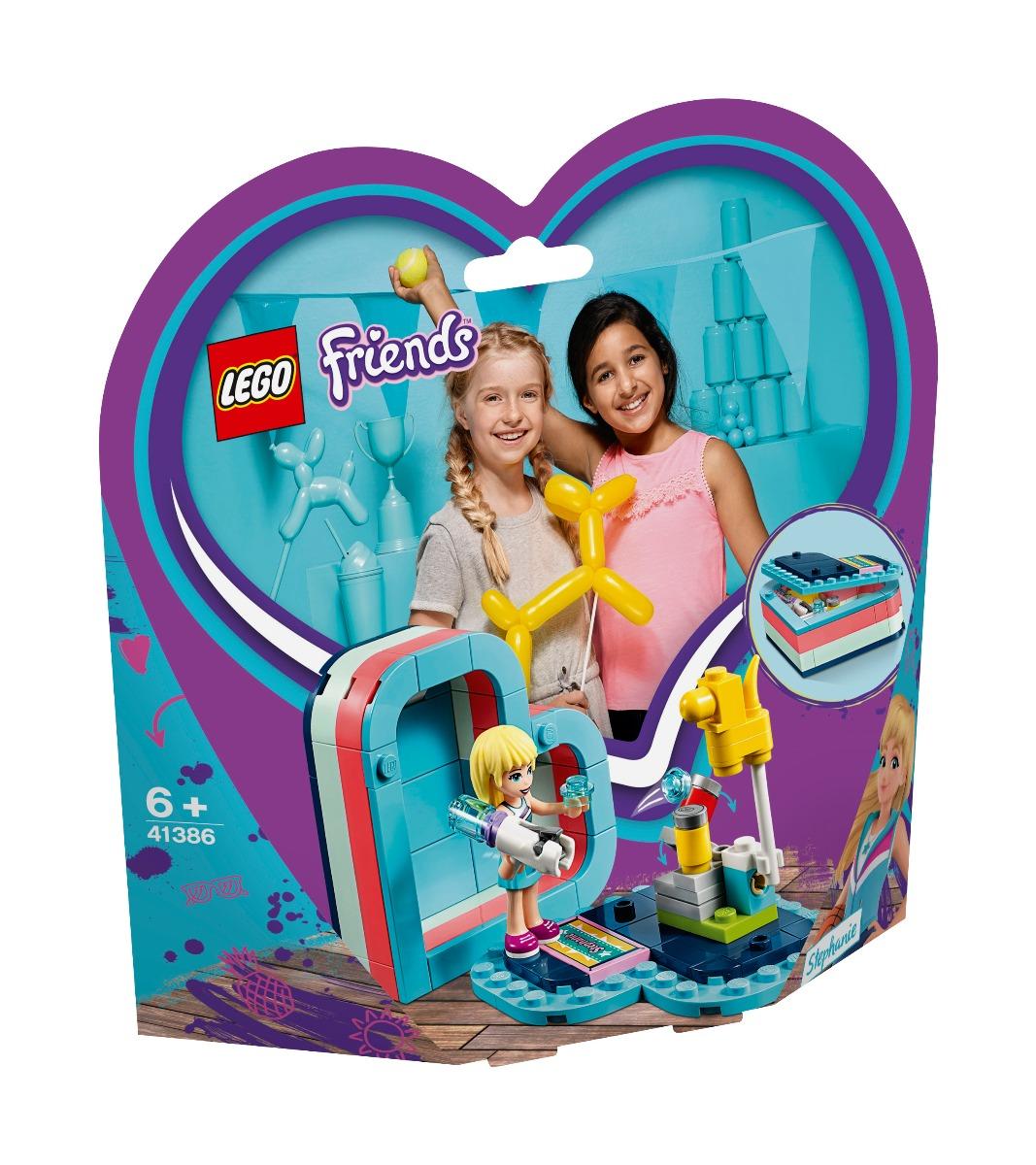 LEGO® Friends - Cutia de vara in forma de inima a Stephaniei (41386)