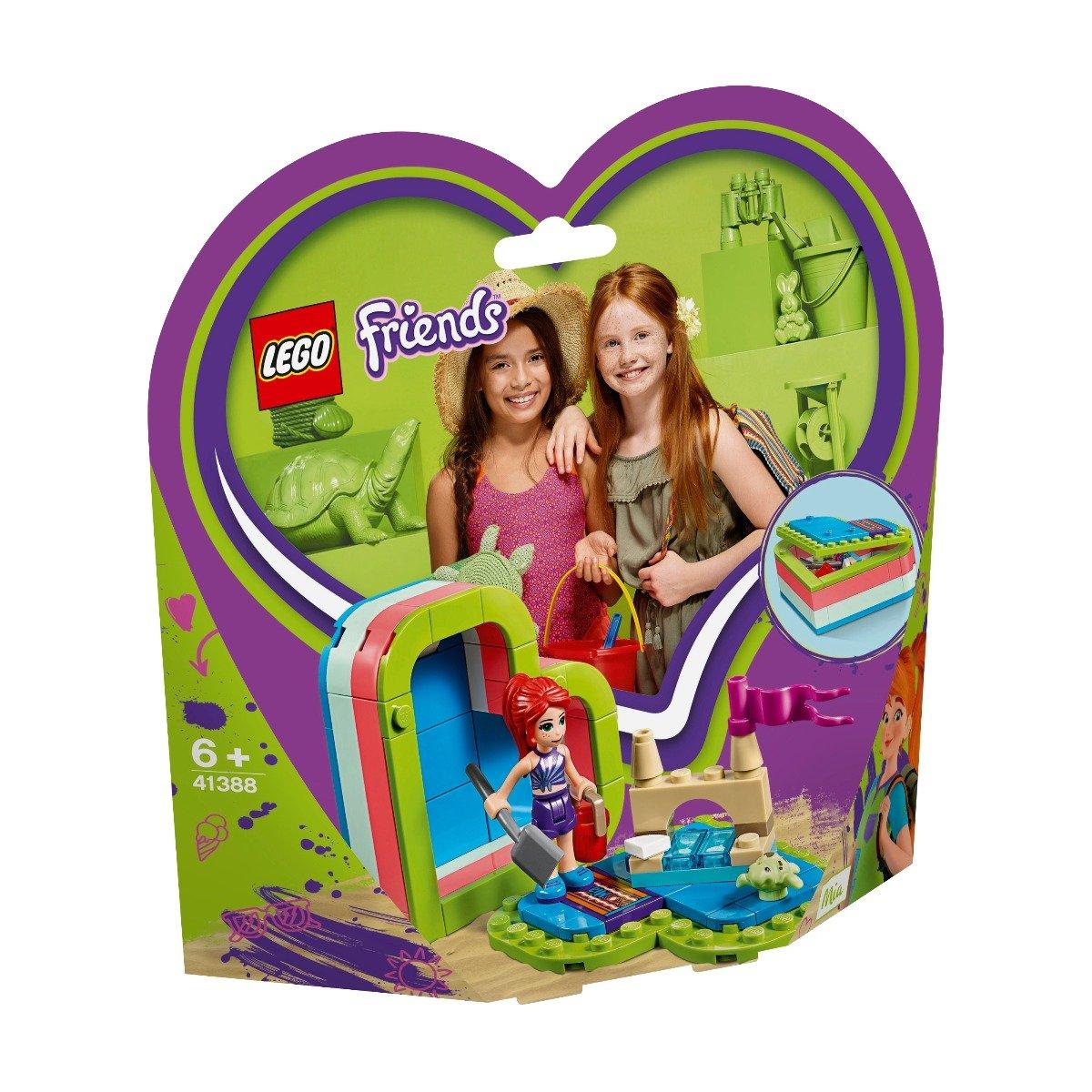 LEGO® Friends - Cutia de vara in forma de inima a Miei (41388)