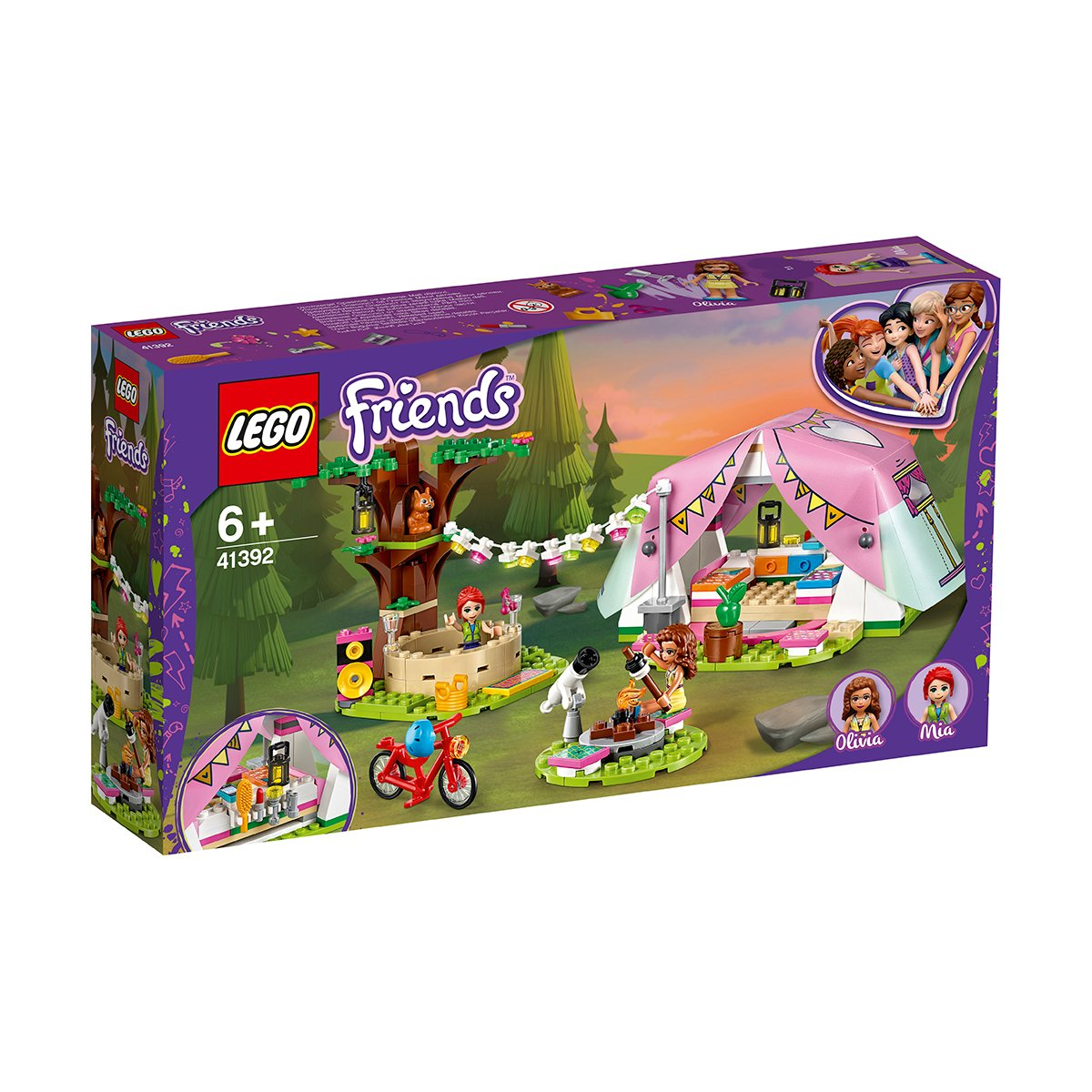 LEGO® Friends - Camping luxos in natura (41392)