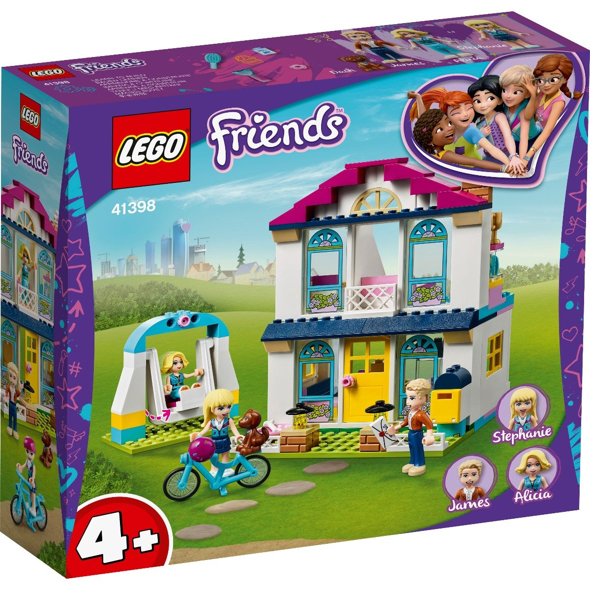 LEGO® Friends - Casa lui Stephanie (41398)