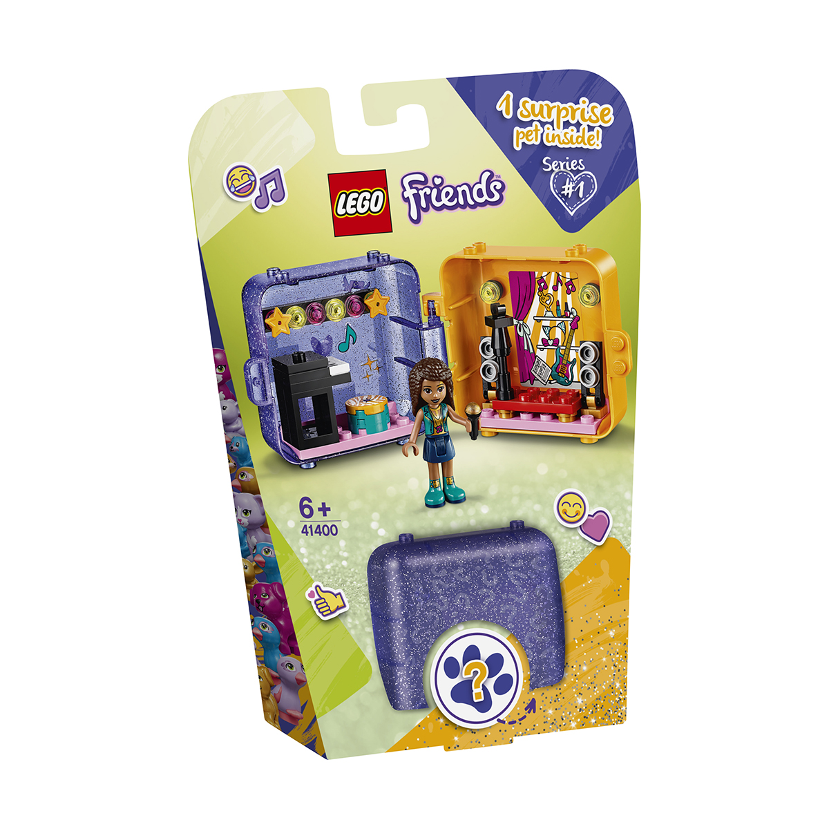 LEGO® Friends - Cubul de joaca al Andreei (41400)