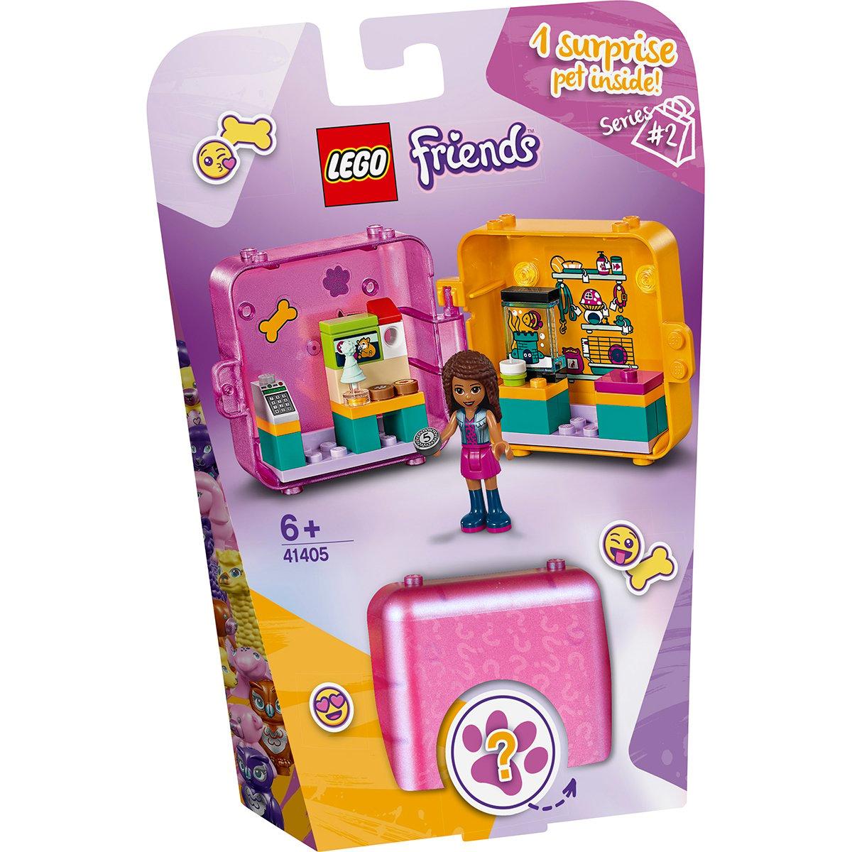 LEGO® Friends – Cubul de joaca de cumparaturi al Andreei (41405)