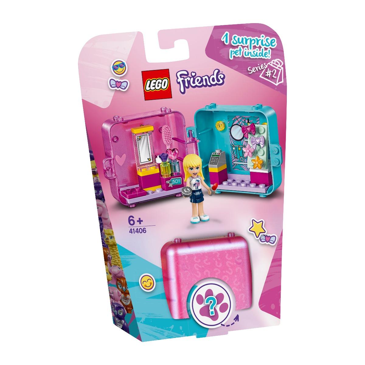LEGO® Friends - Cubul de joaca de cumparaturi al Stephaniei (41406)