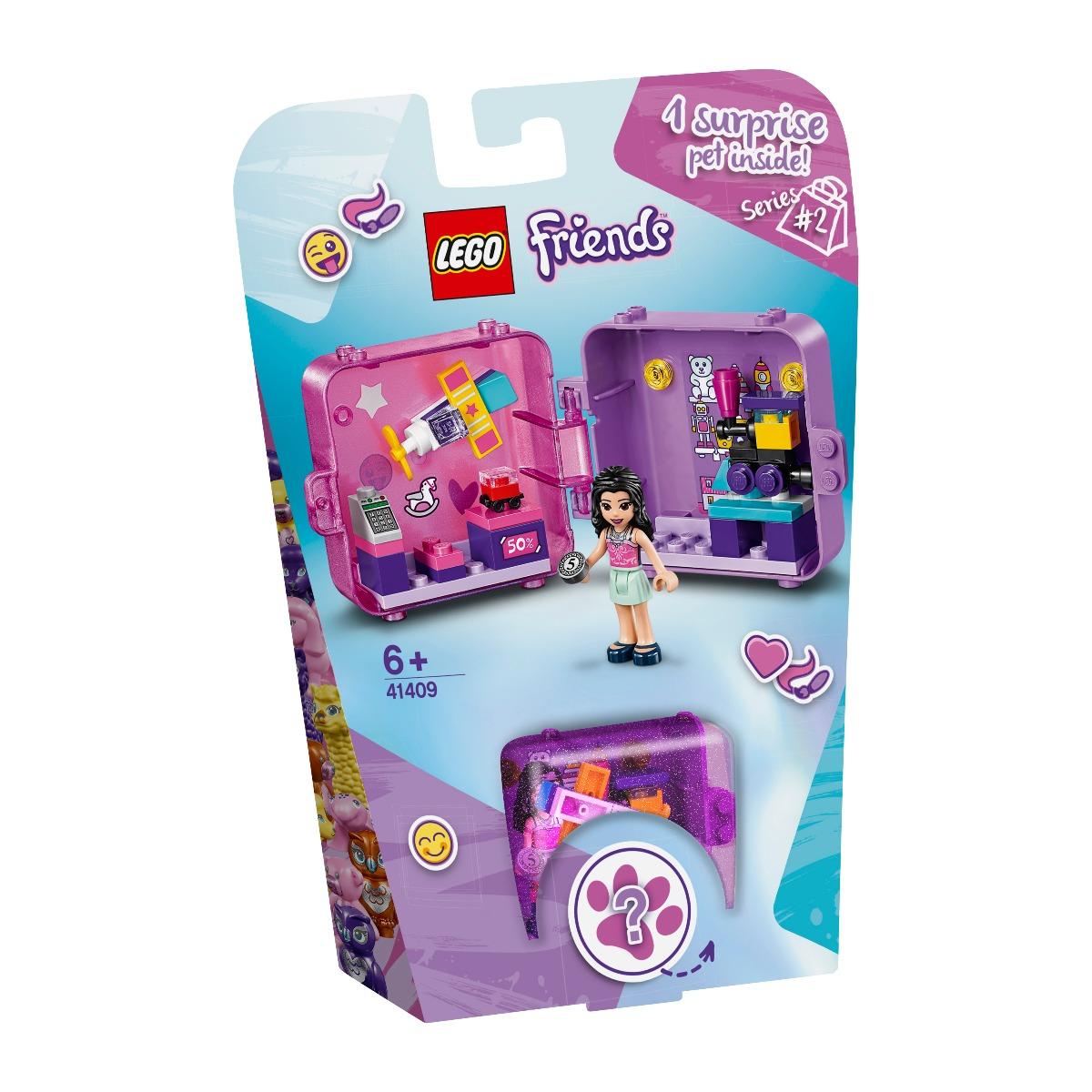 LEGO® Friends - Cubul de joaca de cumparaturi al Emmei (41409)