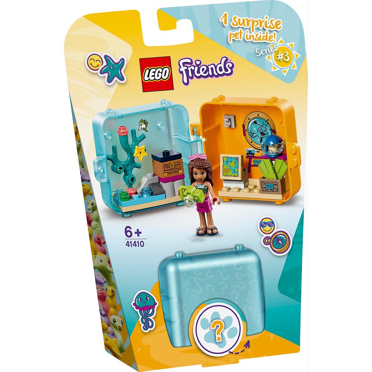 LEGO® Friends - Cubul jucaus de vara al Andreei (41410)