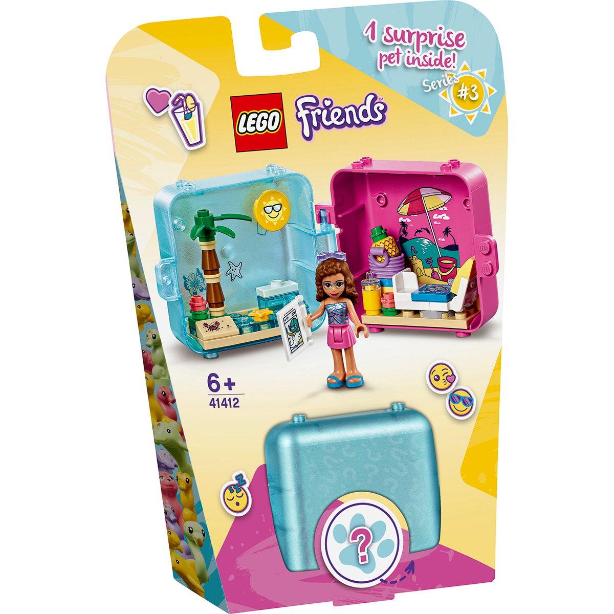 LEGO® Friends - Cubul jucaus de vara al Oliviei (41412)