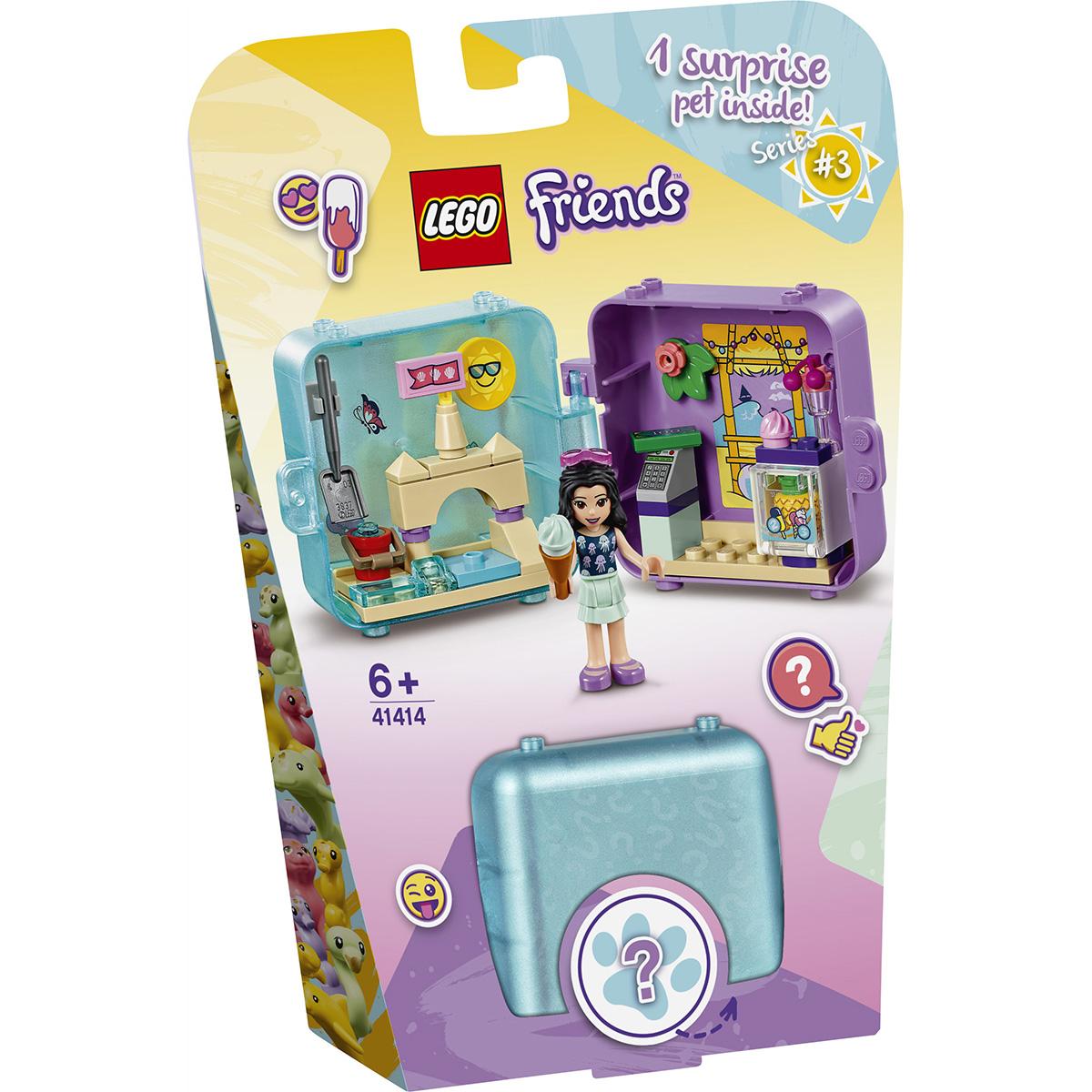 LEGO® Friends - Cubul jucaus de vara al Emmei (41414)