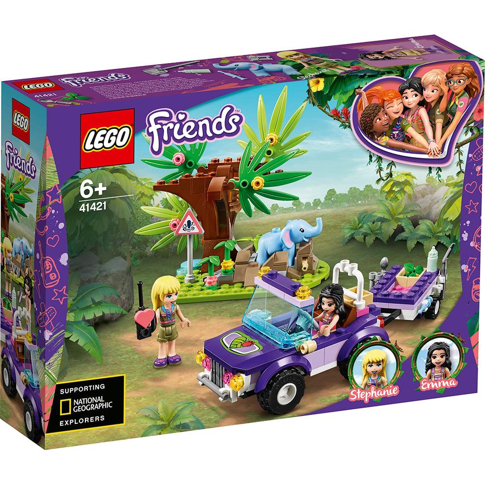 LEGO® Friends - Salvarea puiului de elefant din jungla (41421)