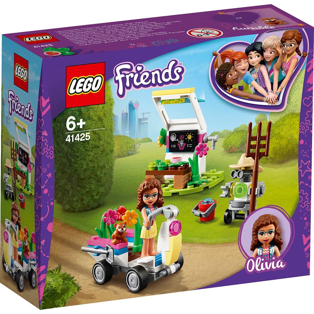 LEGO® Friends - Gradina cu flori a Oliviei (41425)