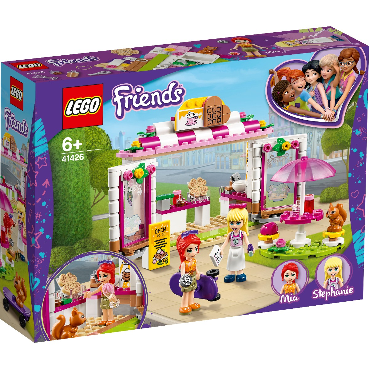 LEGO® Friends - Cafeneaua parcului Heartlake City (41426)