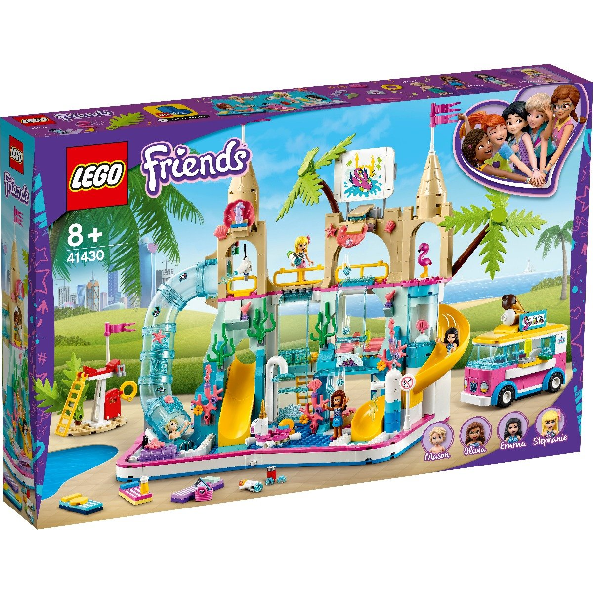 LEGO® Friends - Parc acvatic disctractiv (41430)