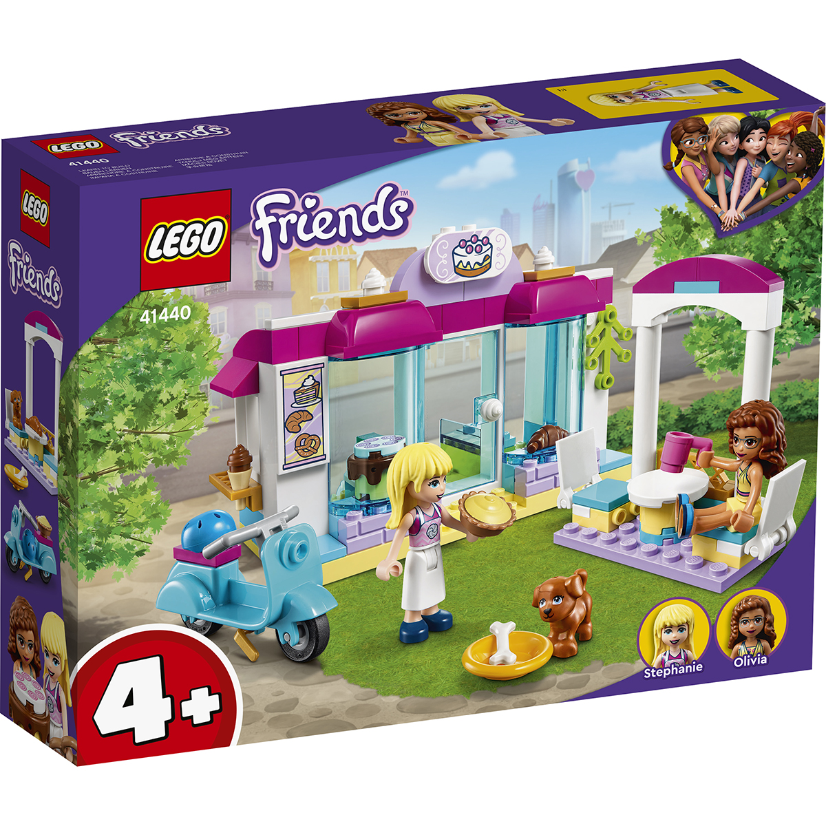 LEGO® Friends - Brutaria Heartlake City (41440)