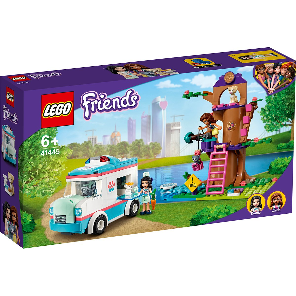 LEGO® Friends - Ambulanta clinicii veterinare (41445)