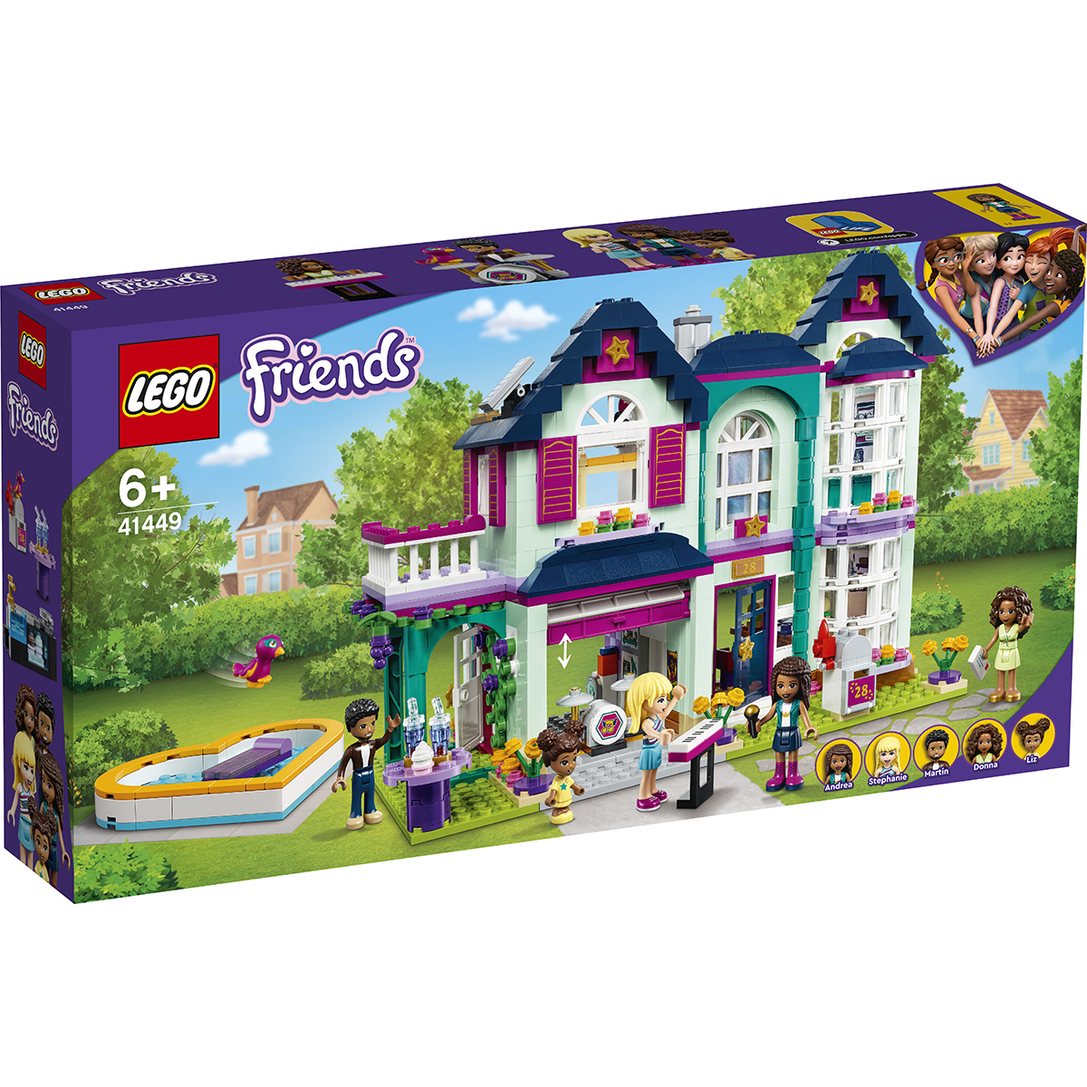 Lego® Friends - Casa Familiei Andreei (41449)