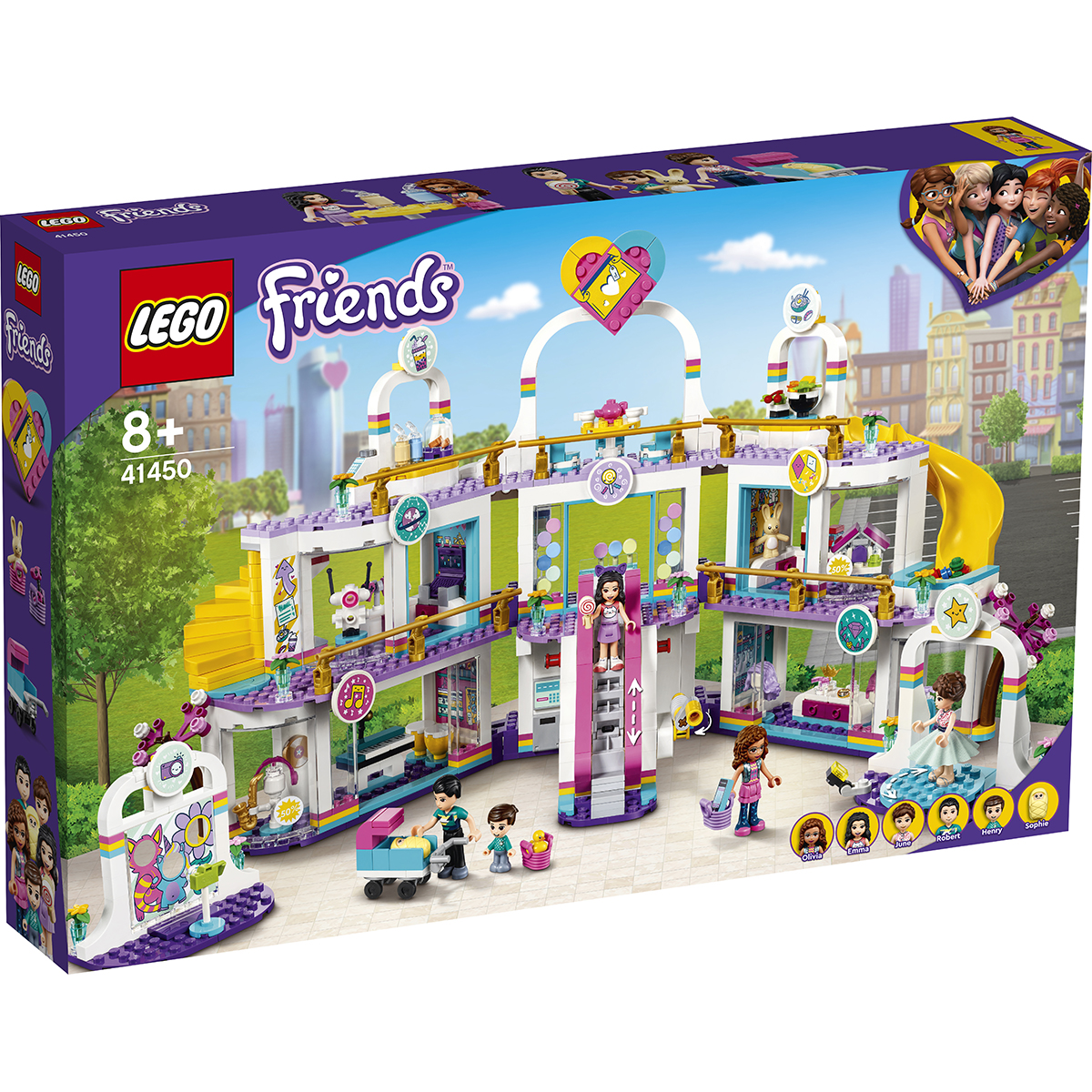 LEGO® Friends - Mall-ul Heartlake City (41450)