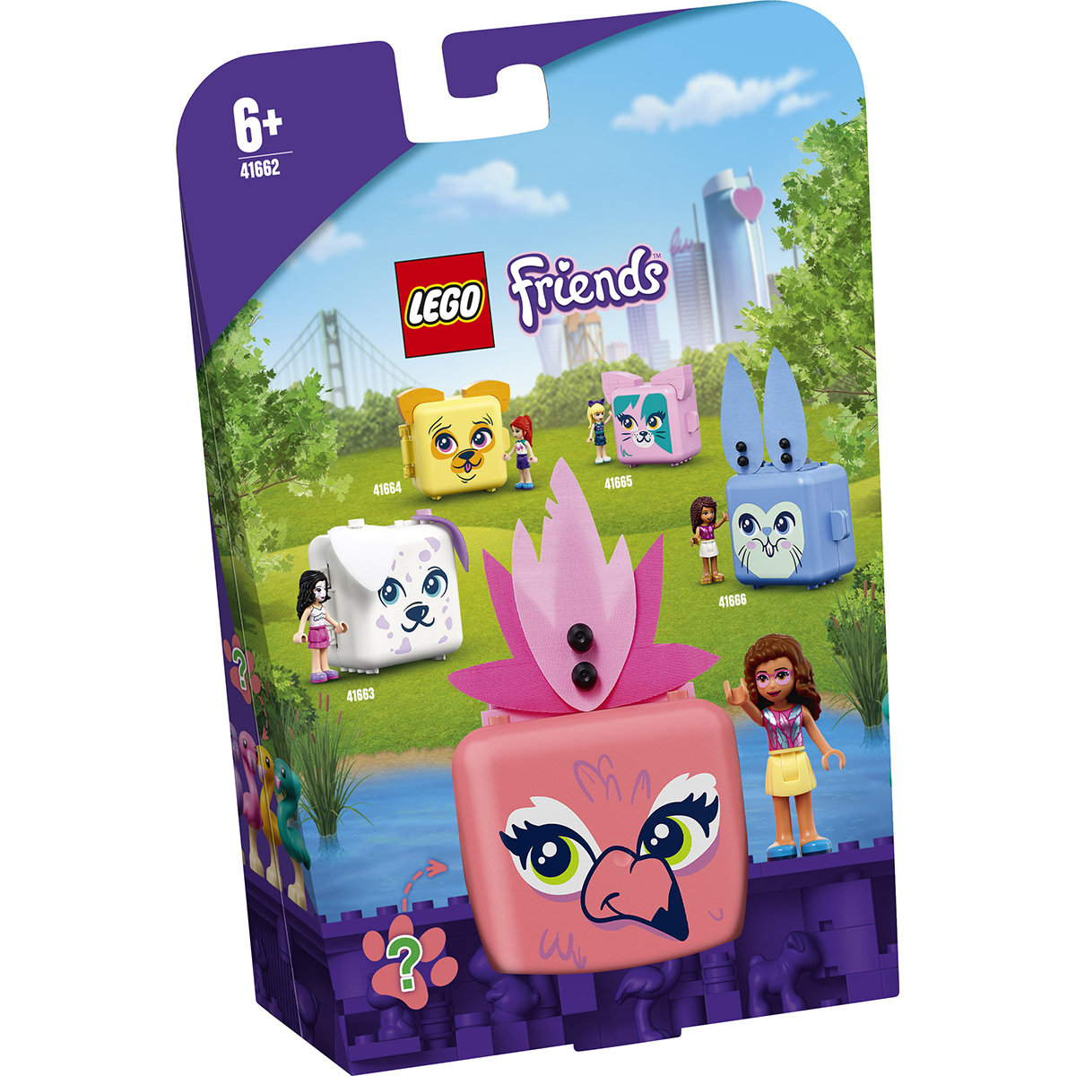 LEGO® Friends - Cubul flamingo al Oliviei (41662)
