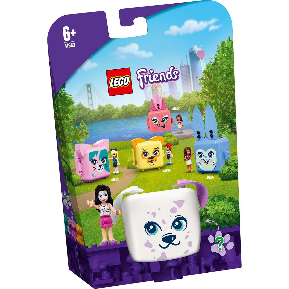 LEGO® Friends - Cubul dalmatian al Emmei (41663)