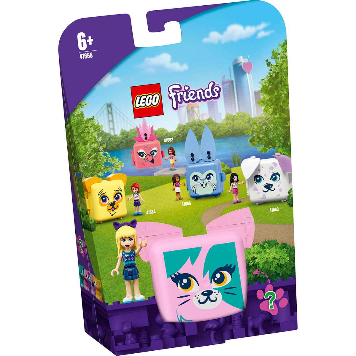 LEGO® Friends - Cubul pisica al Stephaniei (41665)