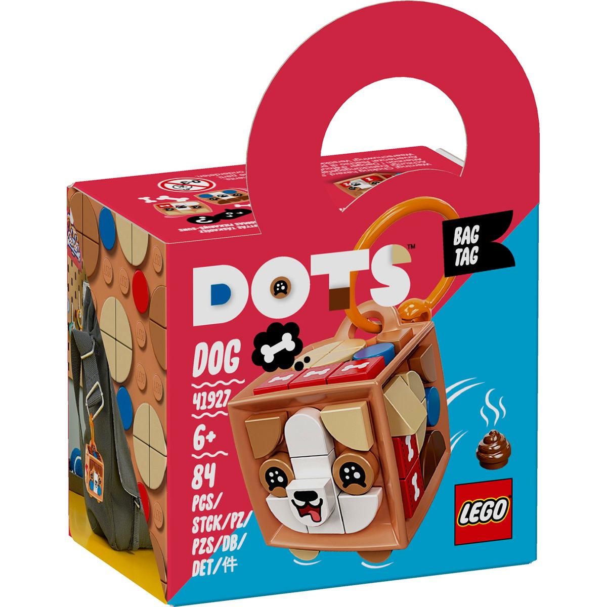 Poza LEGO® Dots - Breloc catelus (41927)