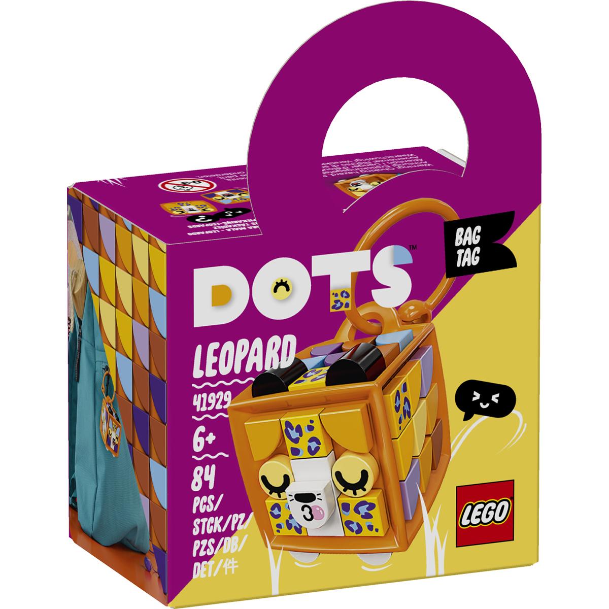 Poza LEGO® Dots - Breloc Leopard (41929)