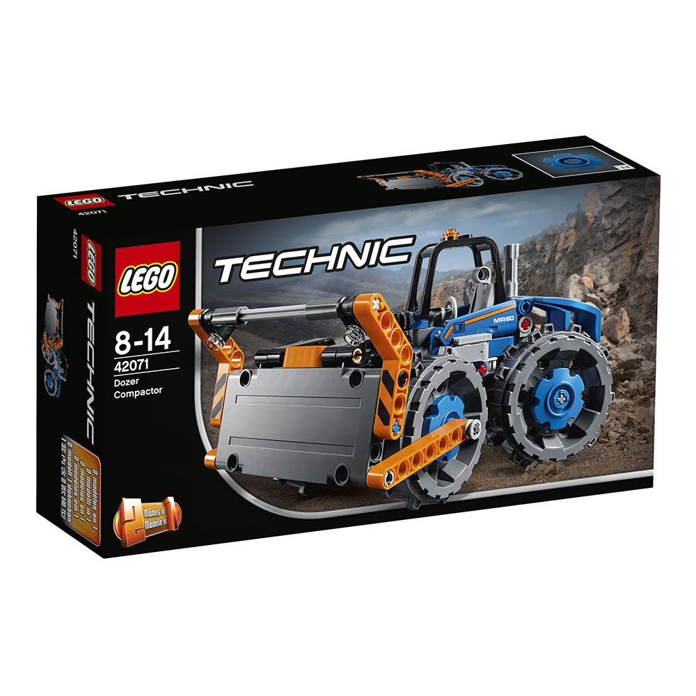 lego® technic™ - buldozer compactor (42071)