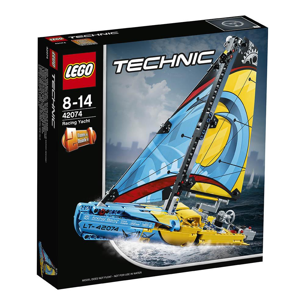 lego® technic™ - iaht de curse (42074)