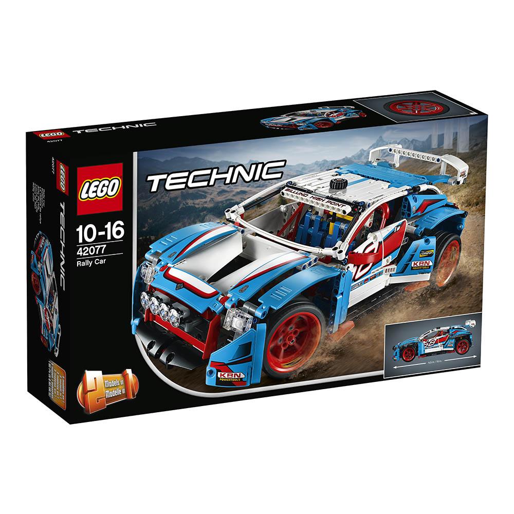 lego® technic™ - masina de raliuri (42077)