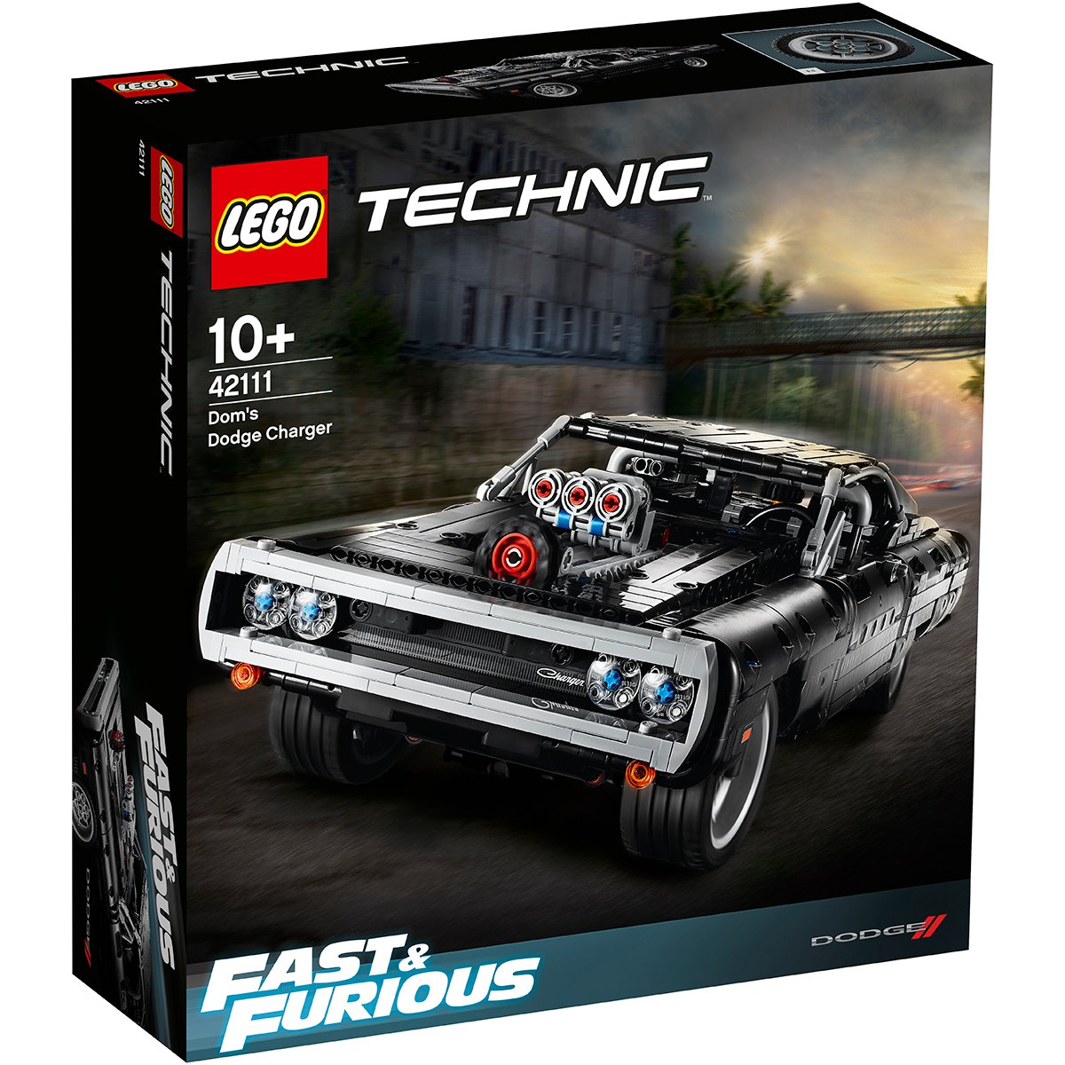 Lego® Technic - Dom's Dodge Charger (42111)