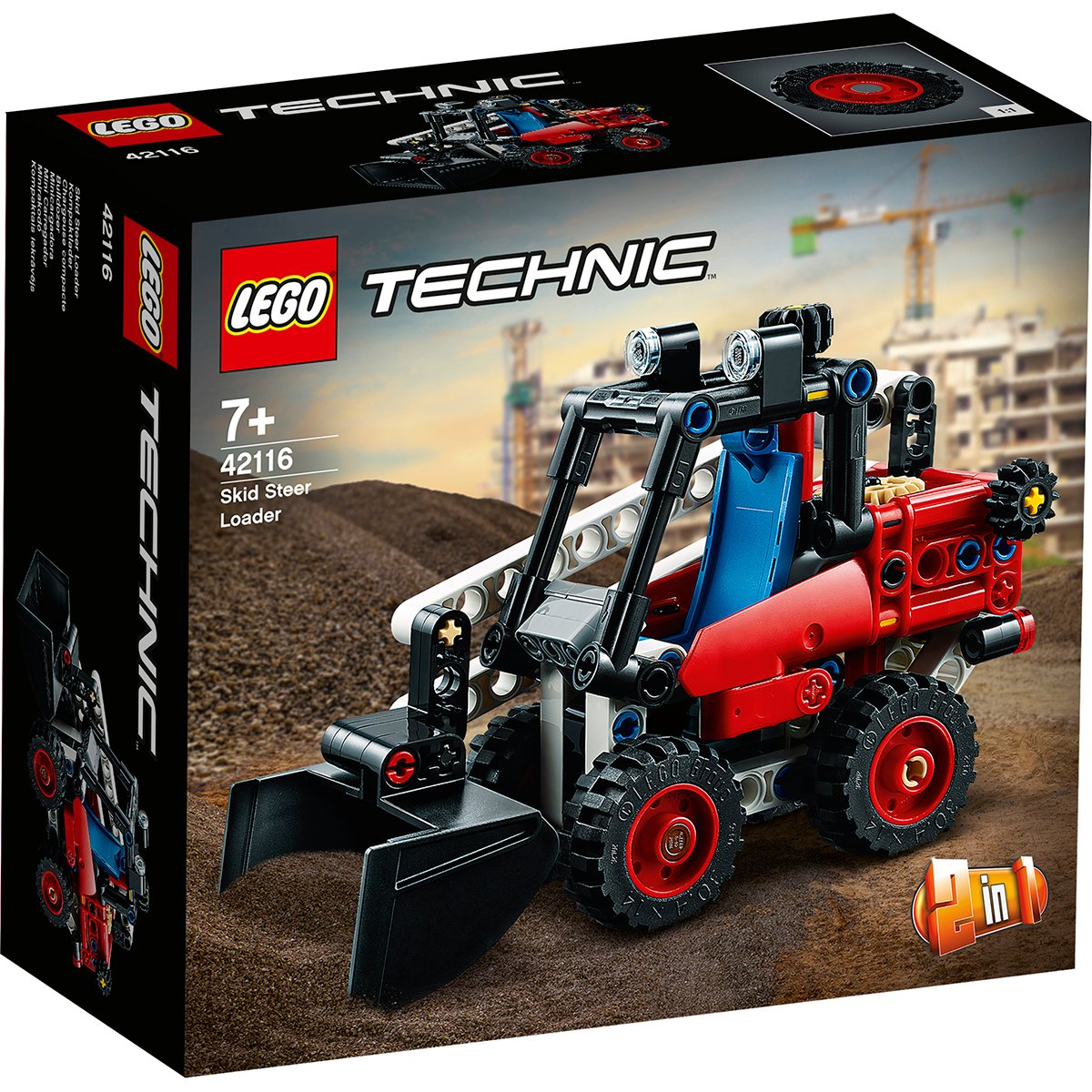 LEGO® Technic - Mini incarcator (42116)