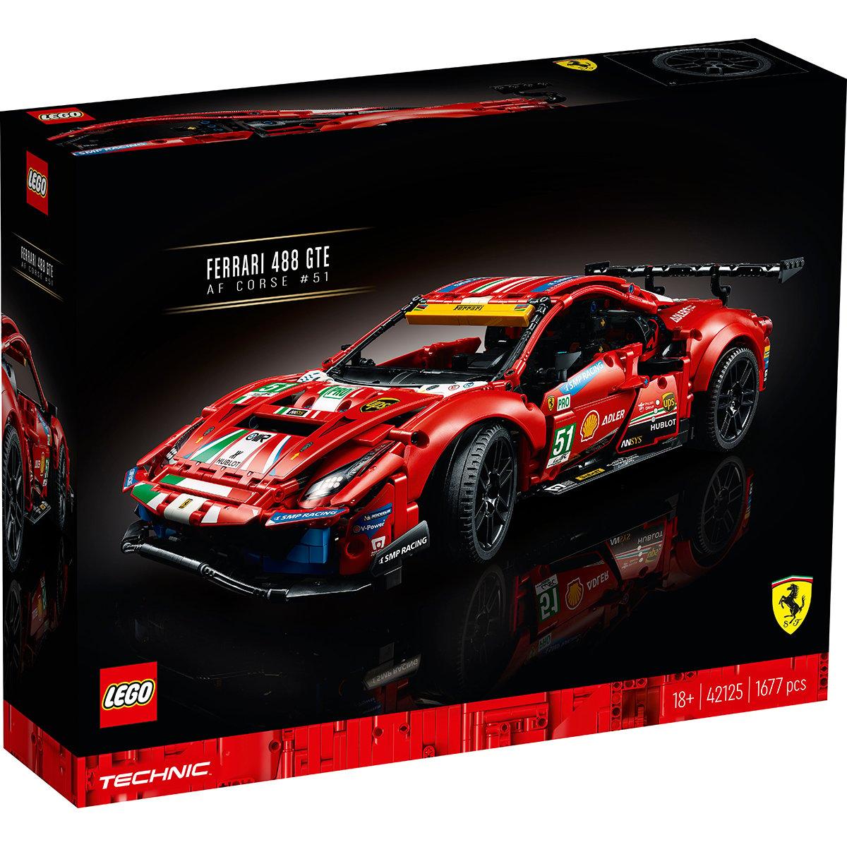 LEGO® Technic - Ferrari 488 GTE AF Corse 51 (42125)