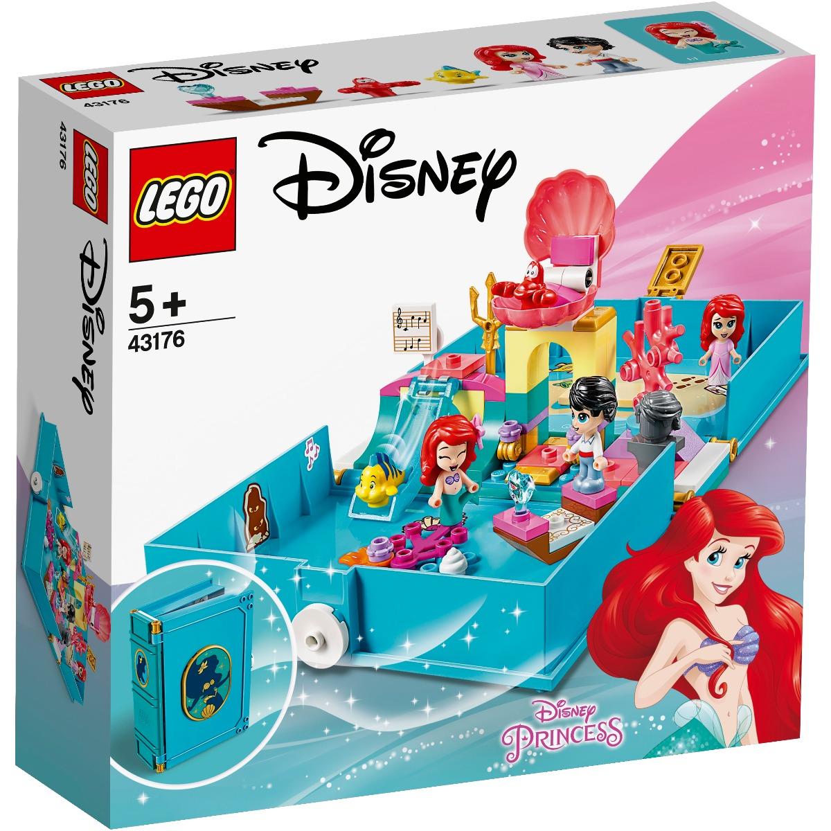 LEGO® Disney Princess™ - Aventuri din cartea de povesti cu Ariel (43176)