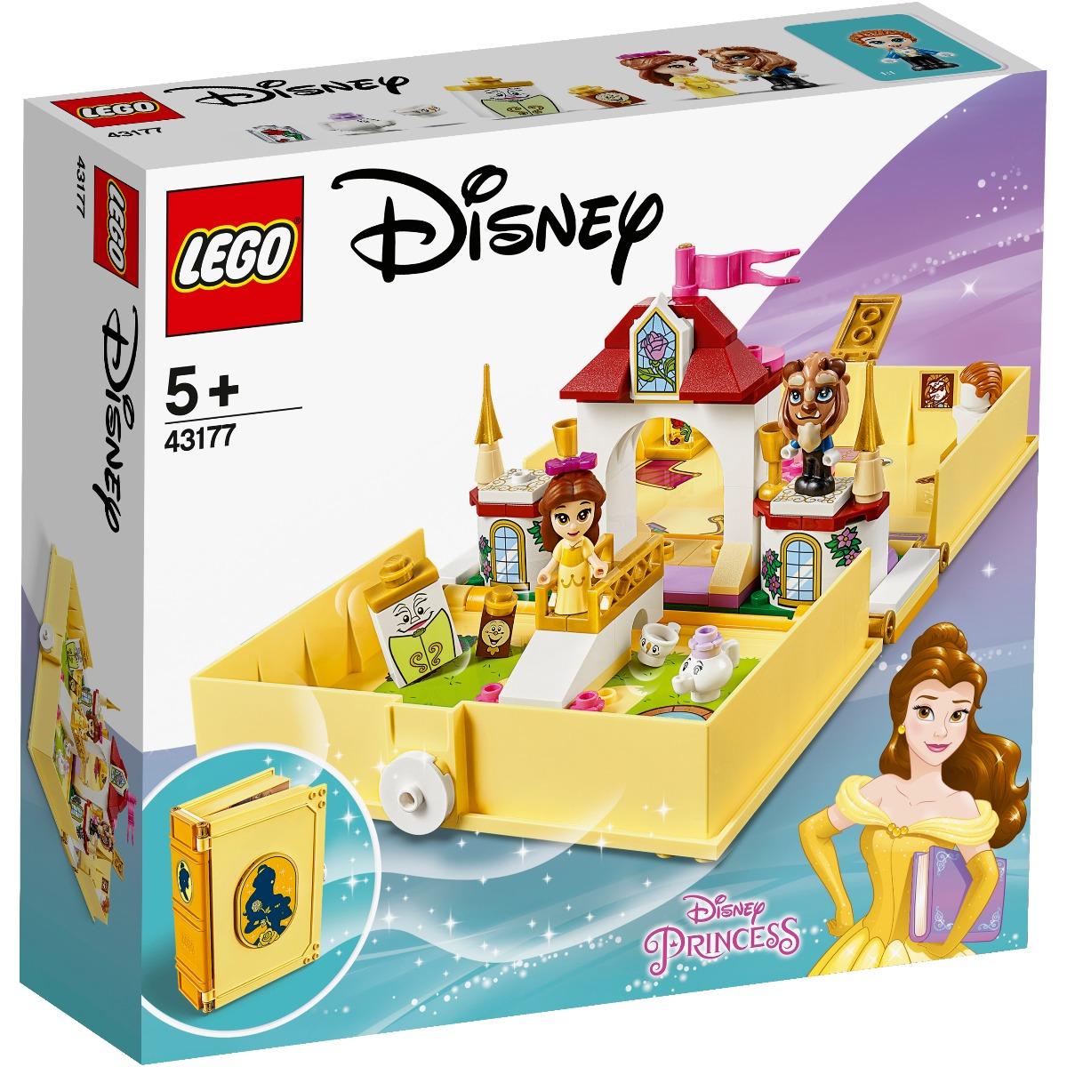 LEGO® Disney Princess™ - Aventuri din cartea de povesti cu Belle (43177)