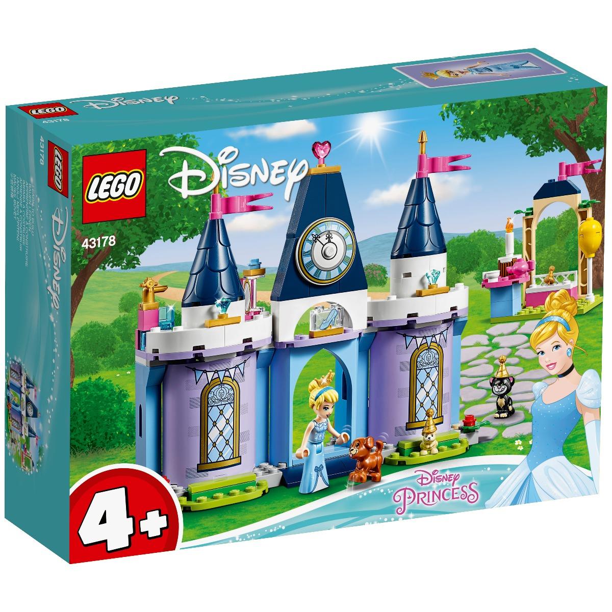 LEGO® Disney Princess™ - Sarbatorirea Cenusaresei la Castel (43178)