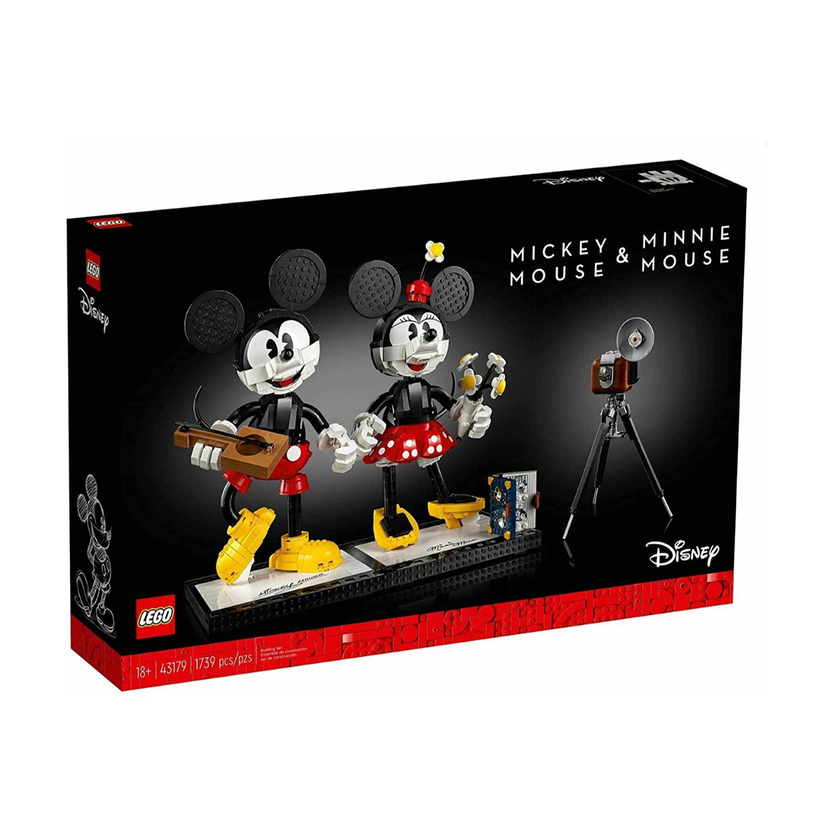 LEGO® Disney - Mickey Mouse si Minnie Mouse (43179)