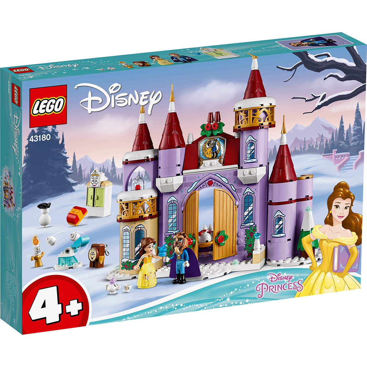 LEGO® Disney Princess™ - Sarbatoare de iarna la Castelul Bellei (43180)