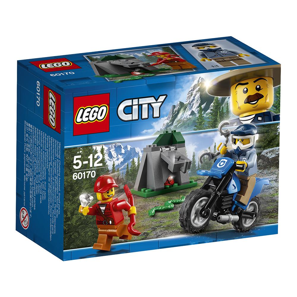 lego® city police - urmarire cu masina de teren (60170)
