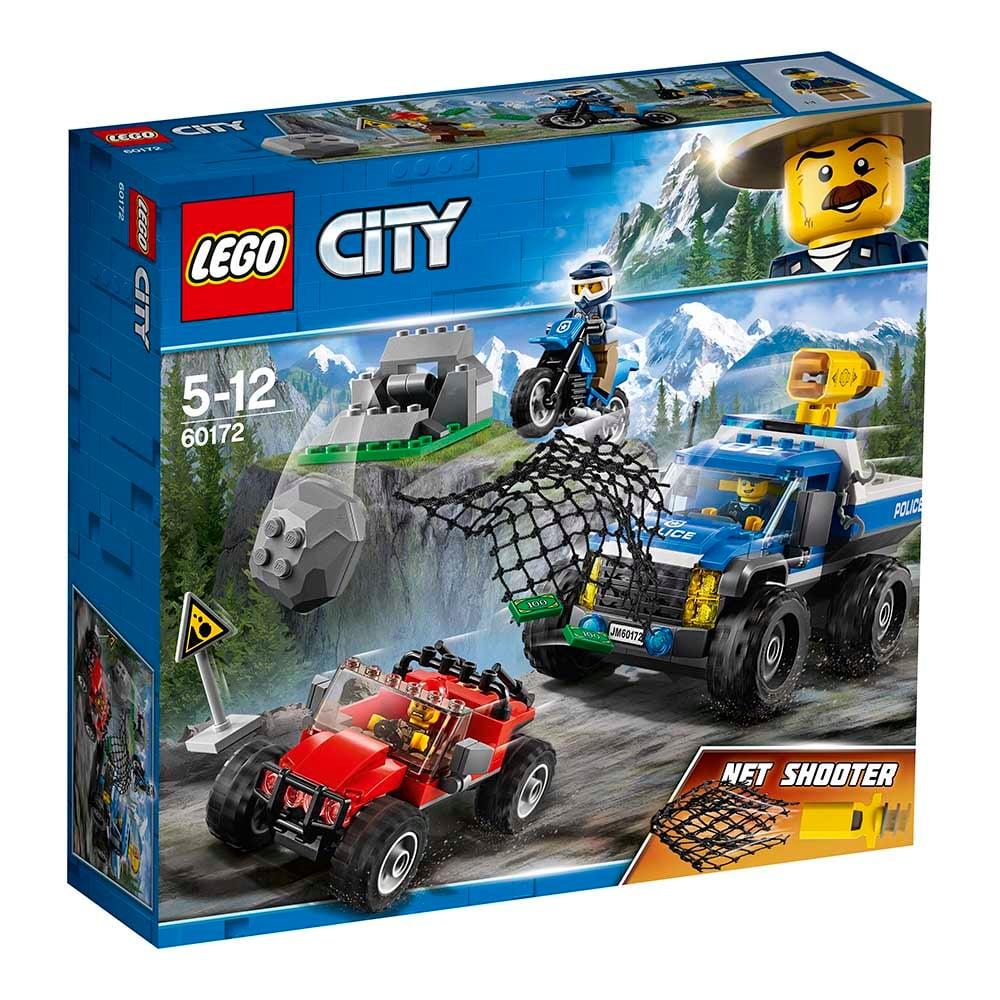 lego® city police - goana pe teren accidentat (60172)