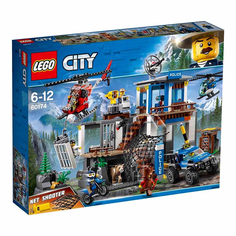 lego® city police - cartierul general al politiei montane (60174)