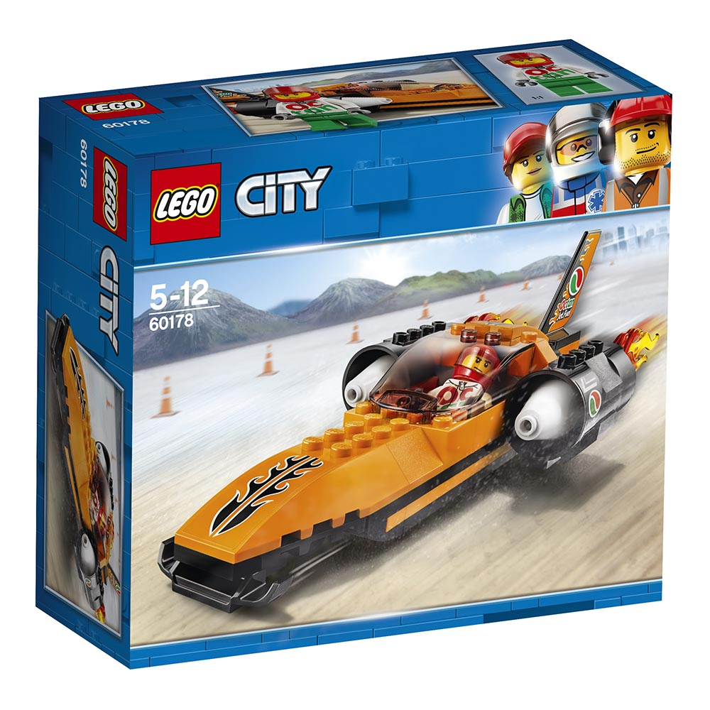 lego® city great vehicles - masina de viteza (60178)